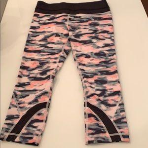 lululemon athletica Pants - Lululemon colorful camo print Capri leggings!